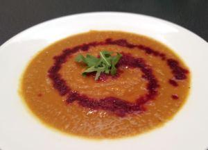 Swirl soup